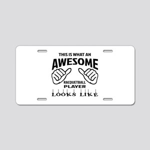 This is what an awesome Rac Aluminum License Plate