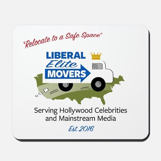 Liberal Elite Movers Mousepad