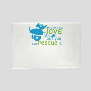 you can't love but you can rescue it Magnets