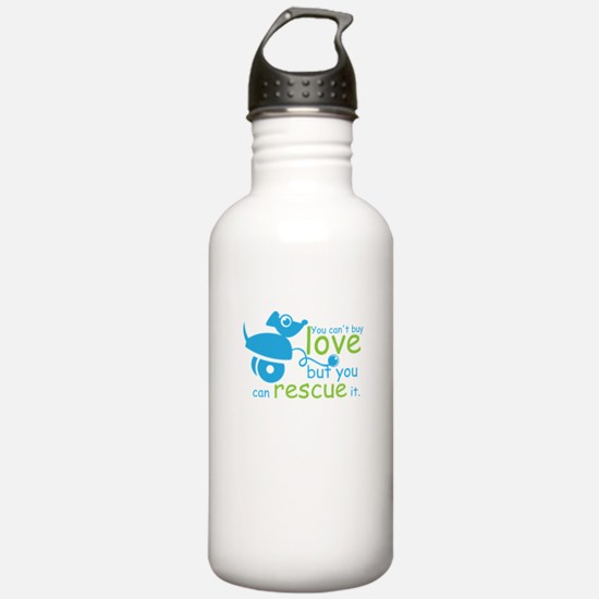 you can't love but Water Bottle