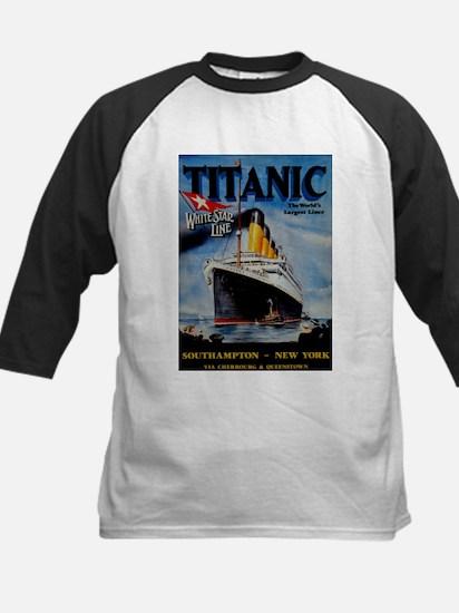 Vintage Titanic Travel Baseball Jersey