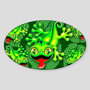 Gecko Lizard Baby Cartoon Sticker