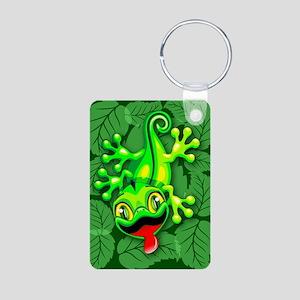 Gecko Lizard Baby Cartoon Keychains