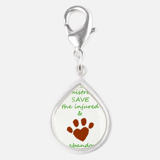 RESCUE the mistreated SAVE the injured LOVE Charms