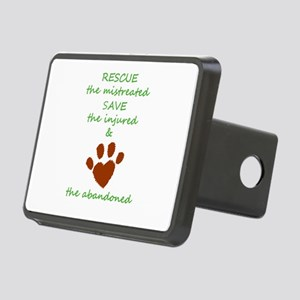RESCUE the mistreated SAVE Rectangular Hitch Cover
