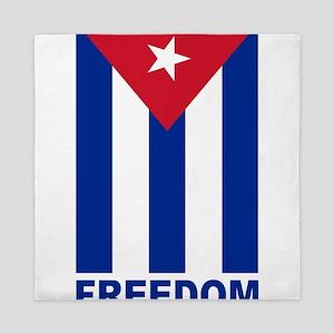 Cuban Flag Freedom Queen Duvet