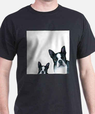Dog 128 Boston Terrier T-Shirt
