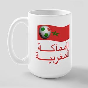 TEAM MOROCCO ARABIC Large Mug