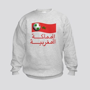 TEAM MOROCCO ARABIC Kids Sweatshirt