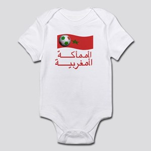 TEAM MOROCCO ARABIC Infant Bodysuit