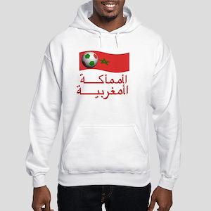 TEAM MOROCCO ARABIC Hooded Sweatshirt