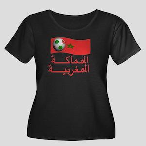 TEAM MOROCCO ARABIC Women's Plus Size Scoop Neck D
