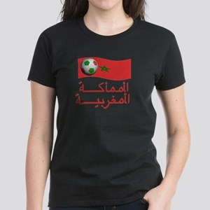 TEAM MOROCCO ARABIC Women's Dark T-Shirt