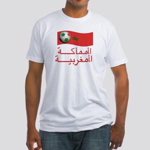 TEAM MOROCCO ARABIC Fitted T-Shirt