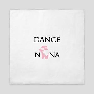 Dance Nana Pointe Pink Queen Duvet