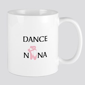 Dance Nana Pointe Pink Mug