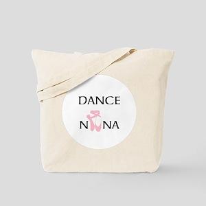 Dance Nana Pointe Pink Tote Bag