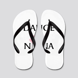 Dance Nana Pointe Pink Flip Flops