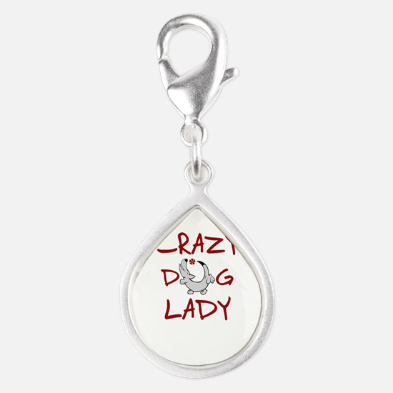 crazy dog lady Charms