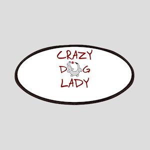 crazy dog lady Patch