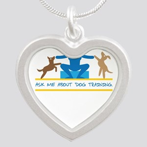 ask me about dog training Necklaces