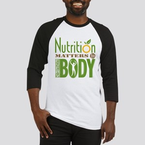 Nutrition-Matters-10in Baseball Jersey
