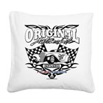 1936 Hot Rod Square Canvas Pillow