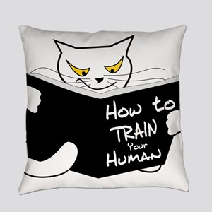 How to train your human Everyday Pillow