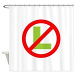 NO L Shower Curtain