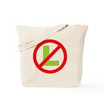 NO L Tote Bag