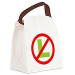 NO L Canvas Lunch Bag