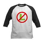 NO L Baseball Jersey