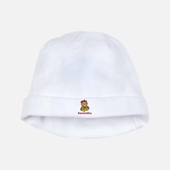 Samantha's Crayon Bear baby hat
