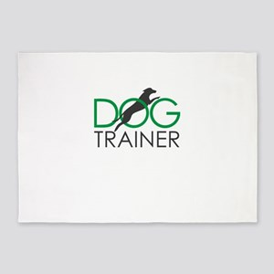 dog trainer 5'x7'Area Rug