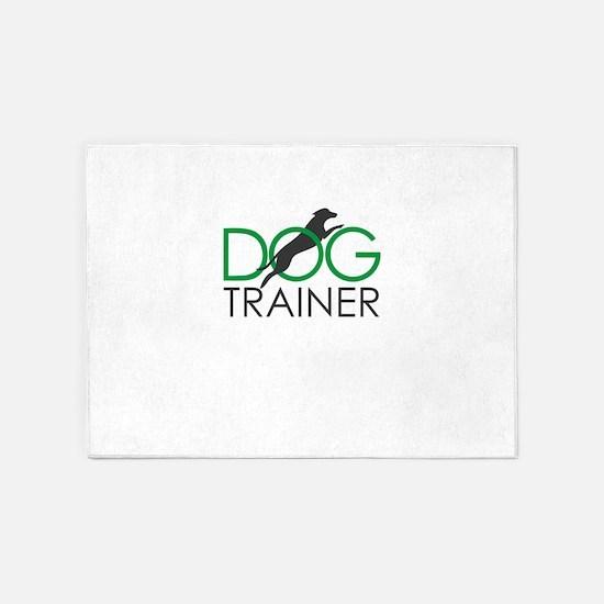 dog trainer 5'x7'Area Rug