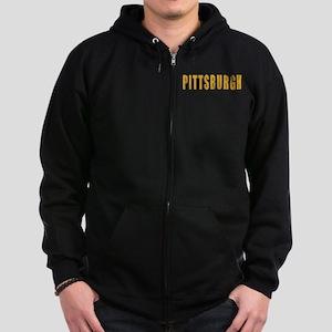 Pittsburgh Zip Hoodie (dark)