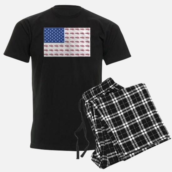 FLAG-O-SLEDS- Pajamas