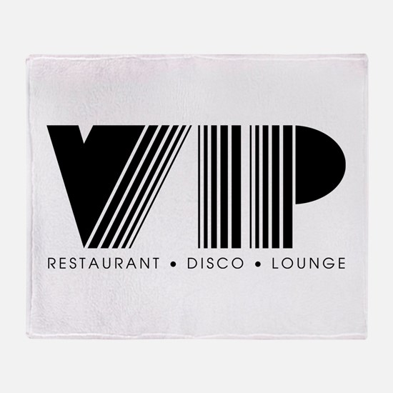VIP Disco Throw Blanket
