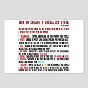 Socialist State Alinsky Postcards (package Of 8)