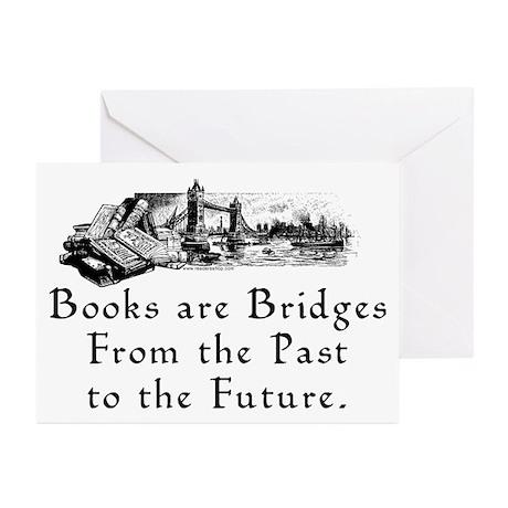 Books are Bridges Greeting Cards (Pk of 10)