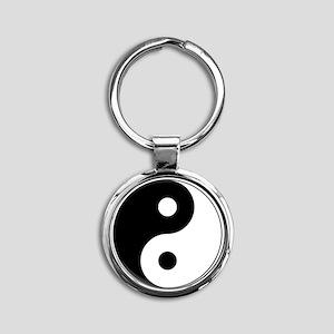 Yin Yang Symbol Keychains