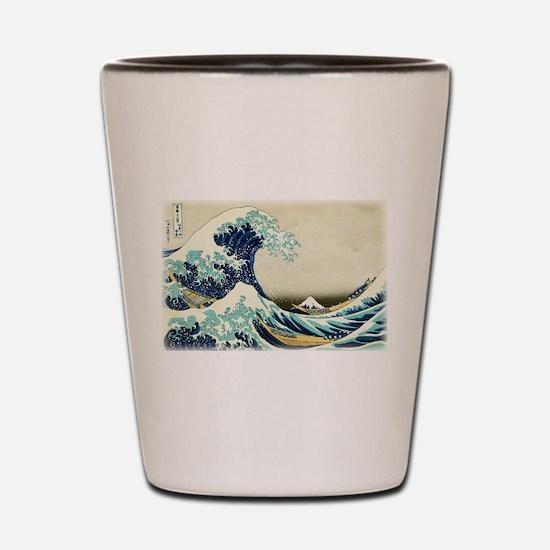 Great Wave off Kanagawa Shot Glass