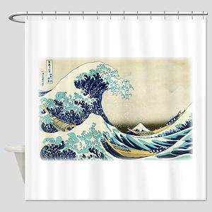 Great Wave off Kanagawa Shower Curtain