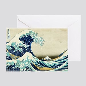 Great Wave off Kanagawa Greeting Cards