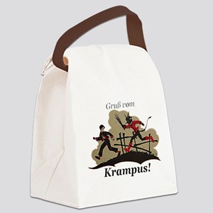 Gruss vom Krampus! Canvas Lunch Bag