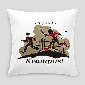 Gruss vom Krampus! Everyday Pillow
