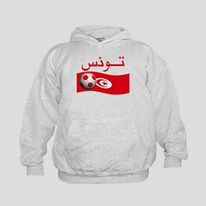 TEAM TUNISIA ARABIC Kids Hoodie