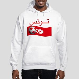 TEAM TUNISIA ARABIC Hooded Sweatshirt