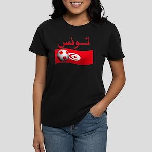 TEAM TUNISIA ARABIC Women's Dark T-Shirt