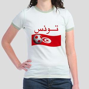 TEAM TUNISIA ARABIC Jr. Ringer T-Shirt